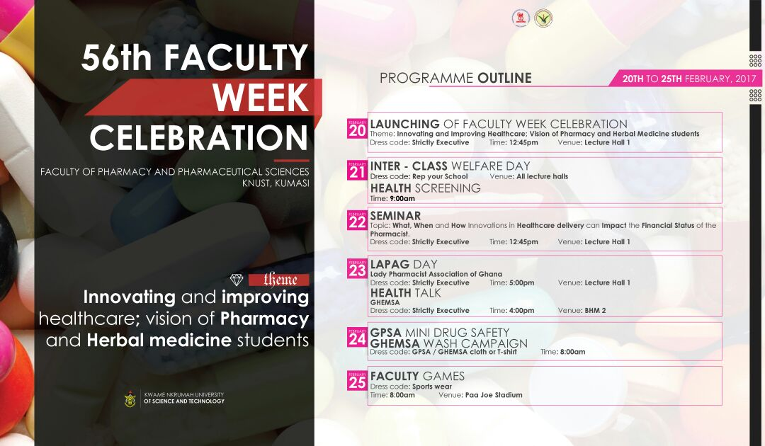 Faculty week celebration